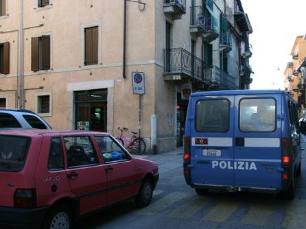 Angolo tra Corticella Fondachetto e via San Vitale