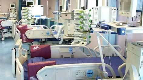 Il reparto di rianimazione inaugurato nel dicembre del 2007