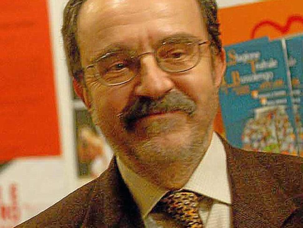 Il giornalista Lorenzo Reggiani FOTO BRENZONI - 22_49_are_f1_873_a
