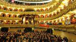 Interni del teatro Filarmonico