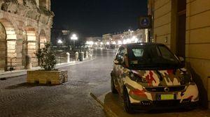 Con l'auto «camouflage» il parcheggio è più facile
