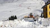 A San Giorgio è tornata la neve: dieci centimetri che migliorano la situazione delle piste FOTO AMATO