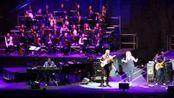 Pino Daniele e Fiorella Mannoia in Arena