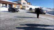 Bufera di neve a San Giorgio (VIDEO PECORA)
