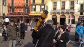 Gli astrofili in Piazza Bra per vedere l'eclissi (VIDEO GIULIO BRUSATI)