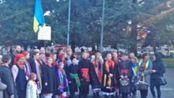 Manifestazione per la pace in Ucraina