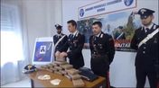 Arresto per cocaina, la conferenza stampa dei carabinieri (VIDEO DIENNEFOTO)