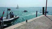 Sesta edizione della traversata a nuoto del lago di Garda