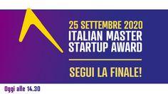 """Rivivi l'evento """"Italian Master Startup Award 2020"""""""